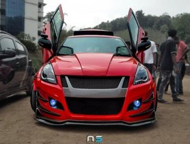 Modified Maruti Swift Looks Amazing With New Scissor Doors