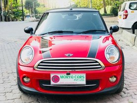 Used Mini Cooper Convertible car at low price