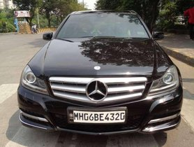 Used Mercedes Benz C Class car 2013 for sale at low price