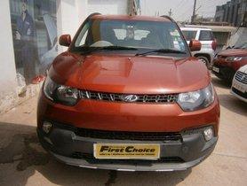 Used Mahindra KUV100 car at low price