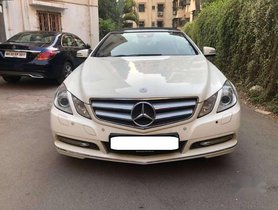 Used Mercedes Benz E Class car 2011 for sale at low price