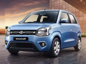 Maruti Wagon R 2019 Breaches 16,000 Sales Mark In March