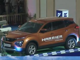 Tata Harrier Windscreen Intact Even On Being Hit By the Cricket Ball During a Six Hit in IPL T20