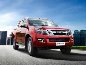 Isuzu D-Max V-Cross Updated With 1.9-Litre BSVI Engine And Automatic Transmission