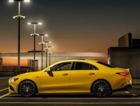 Mercedes-AMG CLA 35 4Matic Teased On Video