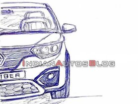 Renault Triber MPV Sketches Disclosed In A New Video