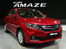 Honda Amaze Sales Rocket In FY 2019, Doubling The Honda City