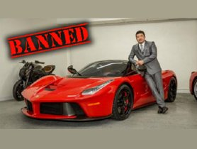 [Celebrity Car Collection] Top 5 Celebrities Banned From Owning A Luxury Ferrari