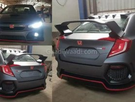 This Old-Gen Honda Civic Has Been Modified To Look Like The Latest Model