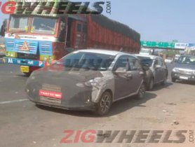 New-Gen Hyundai Grand I10 Spotted Testing, To Get An AMT Gearbox