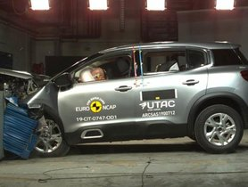 Citroen C5 Aircross Scored 4-Star Rating In Euro NCAP Test