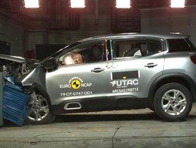 Citroen C5 Aircross Scored 4-Star Rating In Euro NCAP Test