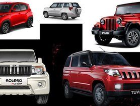 Mahindra offers massive discounts across its range this April!