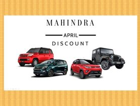 Mahindra Offers Massive Discounts On KUV100, Scorpio, XUV500 and Marazzo