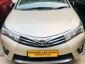 Used Toyota Corolla Altis GL 2014 for sale