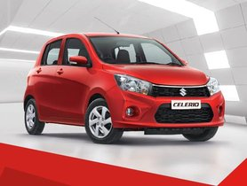 Maruti Celerio Annual Sales Crosses One-lakh Milestone For The First Time