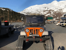 A Thar-based modified Mahindra Raxor looks set for an expedition in Alaska