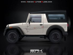 2020 Mahindra Thar Imagined In An Exclusive Rendering