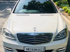 Used Mercedes Benz S Class car 2012 for sale at low price