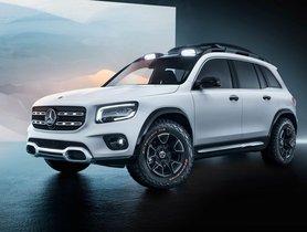 Mercedes-Benz GLB concept unveiled at 2019 Shanghai Auto Show