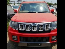 2019 Mahindra TUV300 (Facelift) Spied Undisguised, Exterior and Interior Leaked