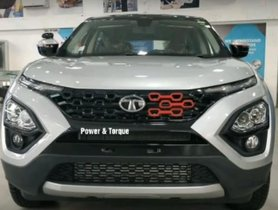 This Modified Tata Harrier Looks Stunning With Two-Tone Colour Scheme And H5X Decals [Video]
