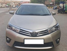 Used Toyota Corolla Altis 1.8 VL CVT 2015 for sale