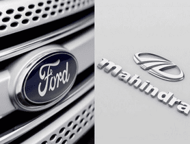 Ford and Mahindra To Co-develop A Mid-size SUV
