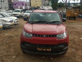 Used Mahindra KUV 100 car 2017 for sale at low price