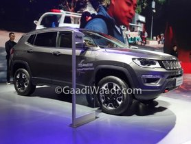 India-bound Jeep Compass Trailhawk Displayed At 2019 Shanghai Motor Show