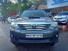 Used Toyota Fortuner 4x2 Manual 2012 for sale