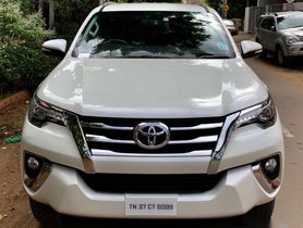 Used Toyota Fortuner car 2017 for sale at low price