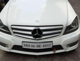 Used Mercedes Benz C Class car 2014 for sale at low price