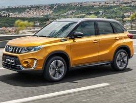New-gen Maruti Vitara SUV To Go On Sale Next Year
