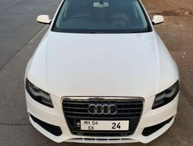 Used Audi A4 car 2010 for sale at low price