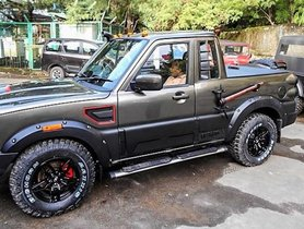 Mahindra Scorpio Mountaineer Is A Tough Beast From Mahindra Customization Studio