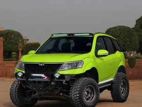 This Modified Mahindra XUV500 Looks Impressive With The Bold Offroad Kit