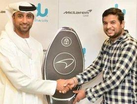 Mclaren 570s Spyder Worth INR 1.5 Crores Won By Indian Worker In Dubai