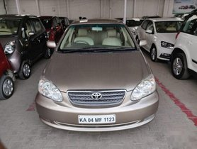 Used Toyota Corolla car at low price