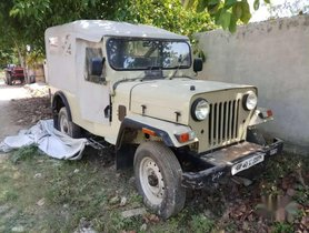 Used Mahindra Jeep car 1999 for sale at low price