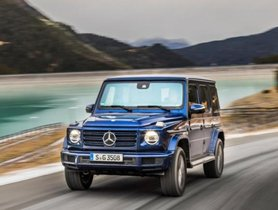 Mercedes-Benz G 350 D To Launch In India In November