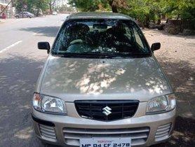 Used Maruti Suzuki Alto car 2010 for sale at low price