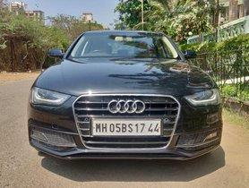 Used Audi A4 car at low price