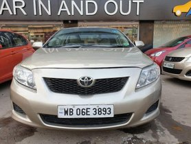 2010 Toyota Corolla Altis for sale at low price