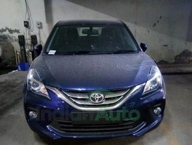 Toyota Glanza Revealed In The Latest Set Of Spy Images
