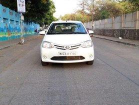 Used 2014 Toyota Platinum Etios car at low price
