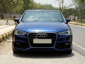 Used Audi A3 Cabriolet car at low price