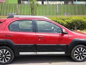 Used Toyota Etios Cross car at low price