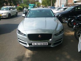 Used Jaguar XE car at low price