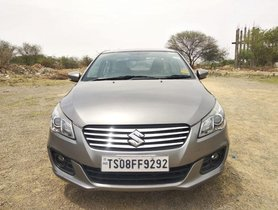 Used Maruti Suzuki Ciaz car at low price